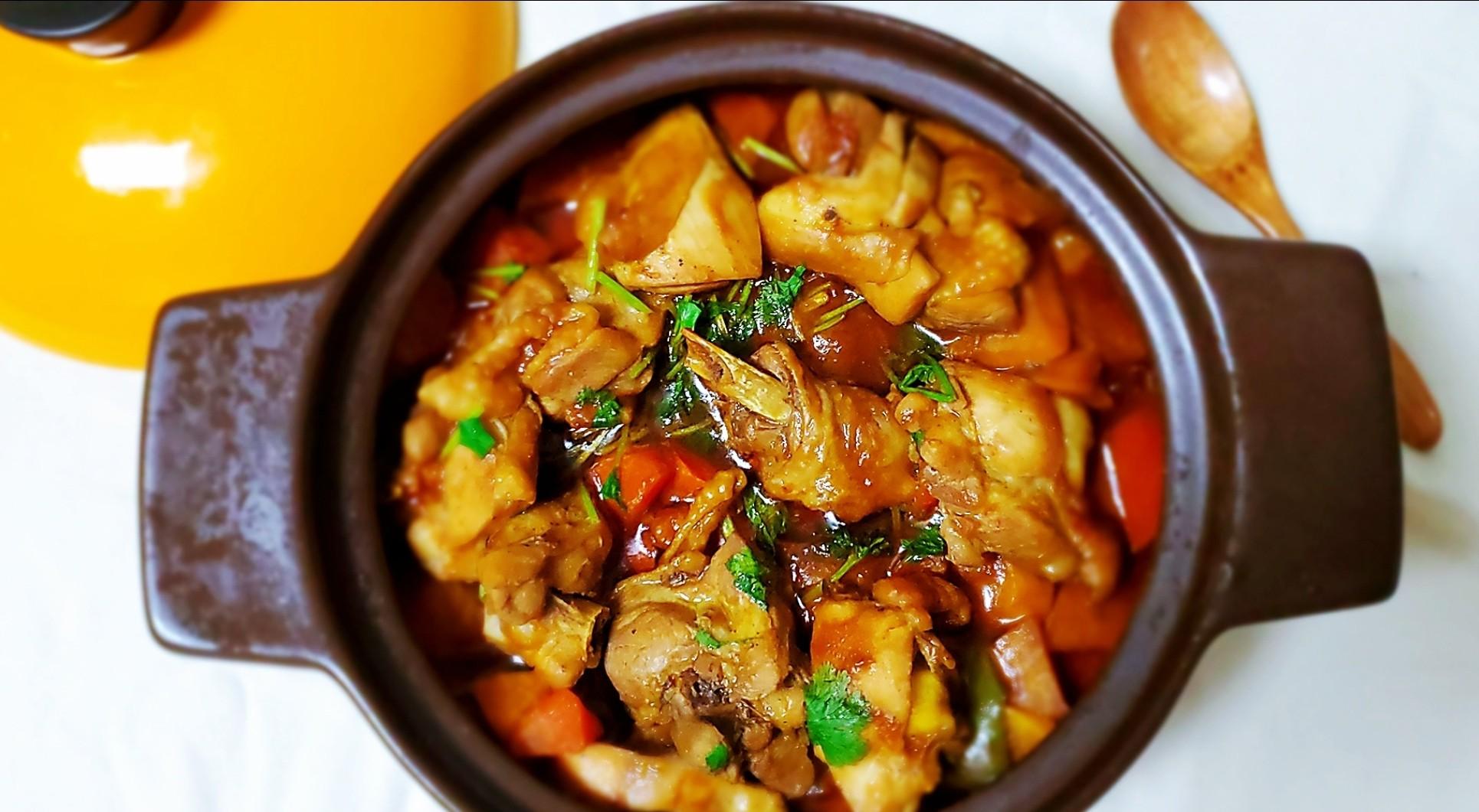超下饭,堪比黄记煌的鸡腿焖锅怎么炖