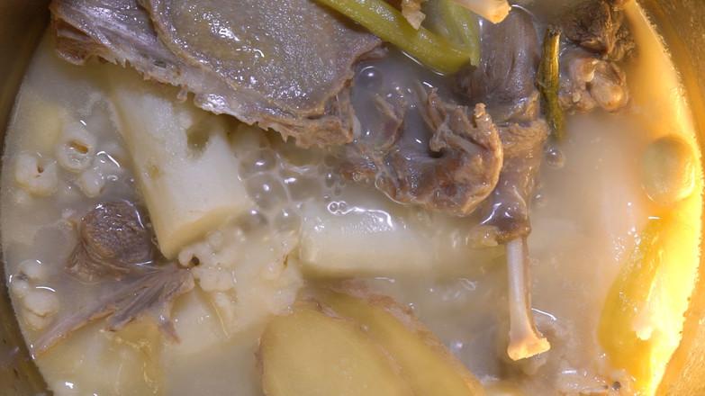 石斛老鸭汤的简单做法