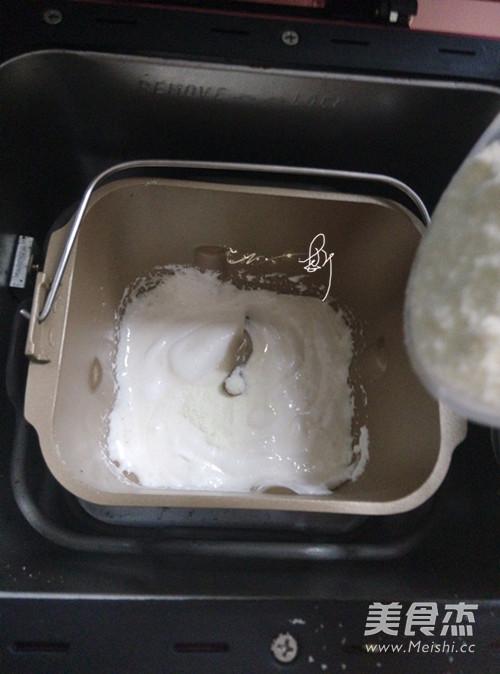 面包机黑芝麻牛轧糖怎么吃