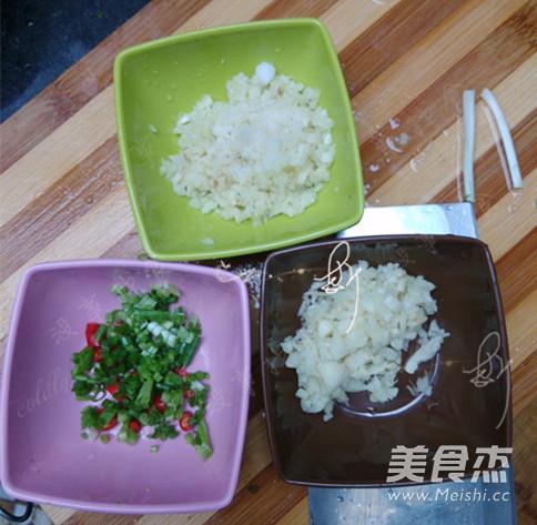 蒜茸粉丝蒸金针菇的家常做法