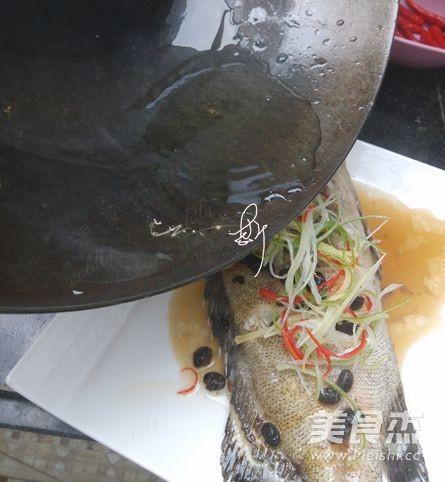 豆豉蒸石斑鱼怎么吃