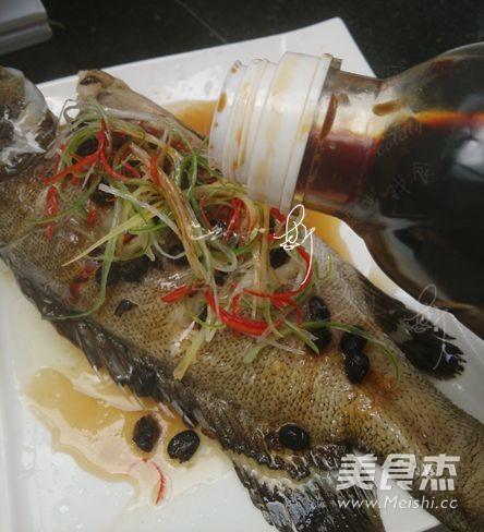 豆豉蒸石斑鱼怎么做