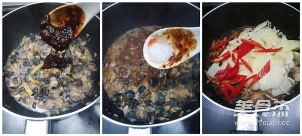 螺蛳肉焖笋片的家常做法