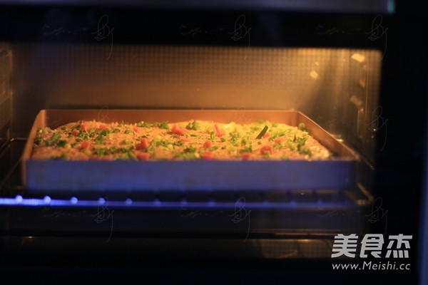 香葱肉松面包卷怎样炒