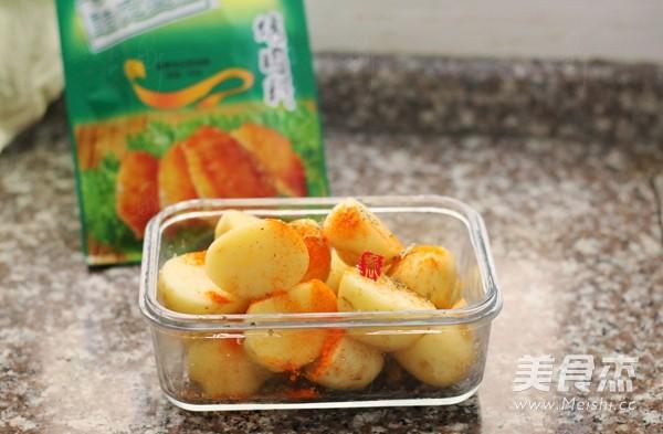 新奥尔良香草烤小土豆的家常做法