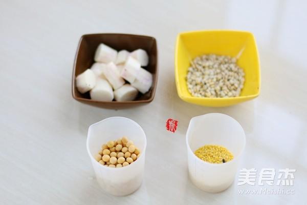 小米山药养胃豆浆的做法大全