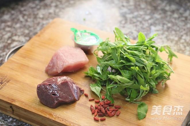 猪肝枸杞菜汤的做法大全