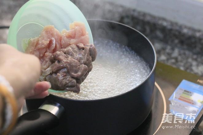 猪肝枸杞菜汤的简单做法