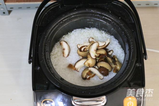 香菇滑鸡粥怎么煮