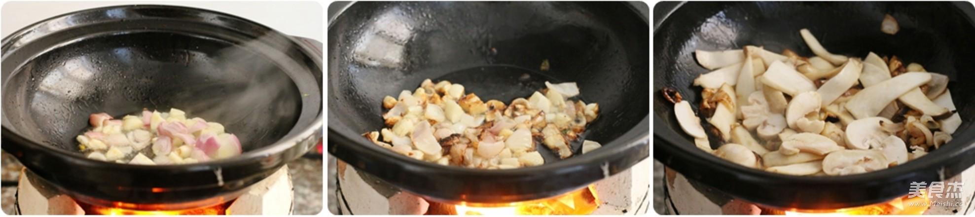 砂锅羊肉粉丝煲怎么吃