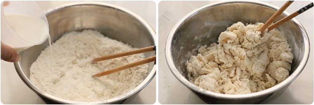 牛奶小面包的做法图解