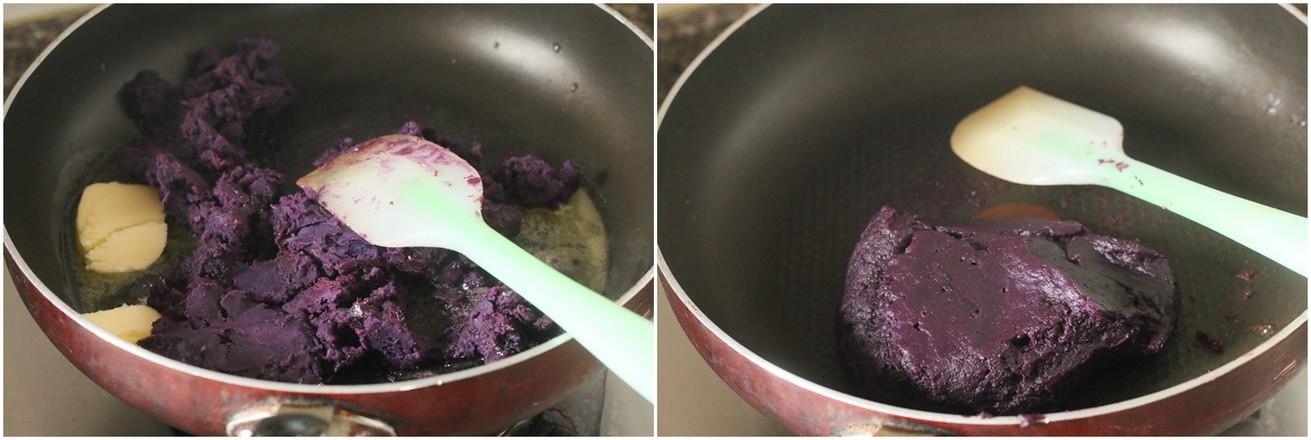 紫薯吐司的简单做法
