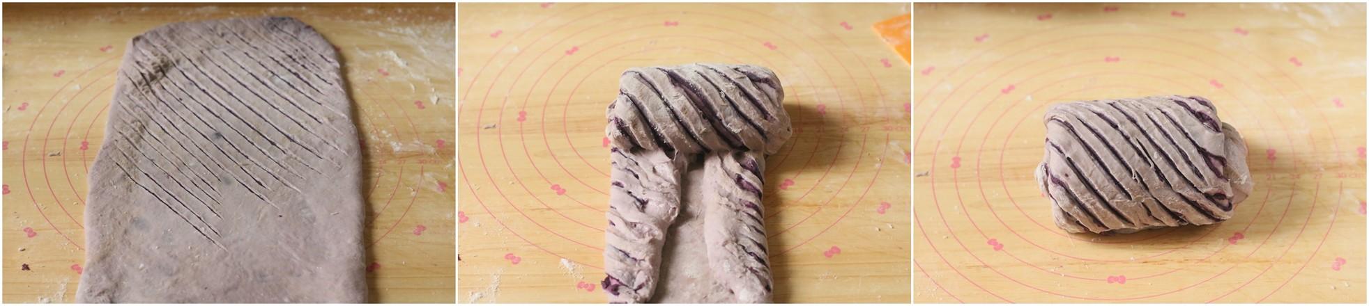 紫薯吐司怎么做