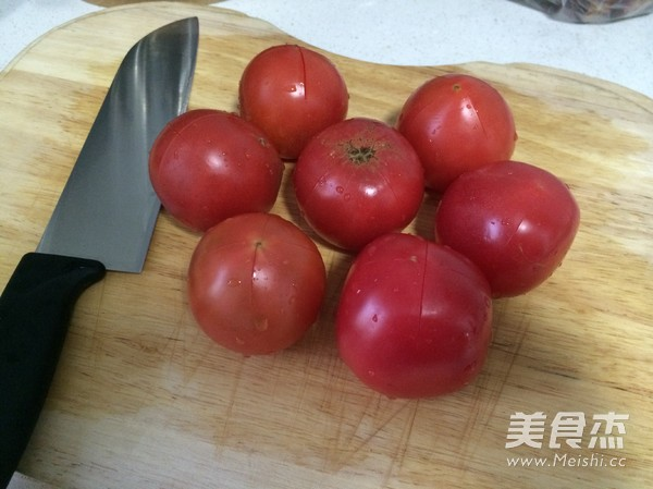 番茄炖牛腩的家常做法