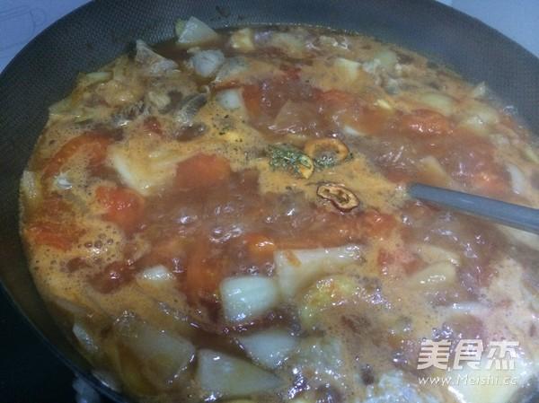 番茄炖牛腩怎样煮