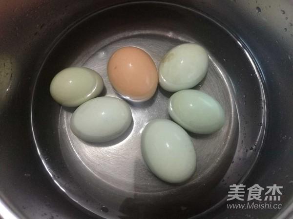 荠菜煮鸡蛋的简单做法