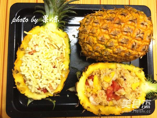 菠萝焗海鲜饭怎样炒