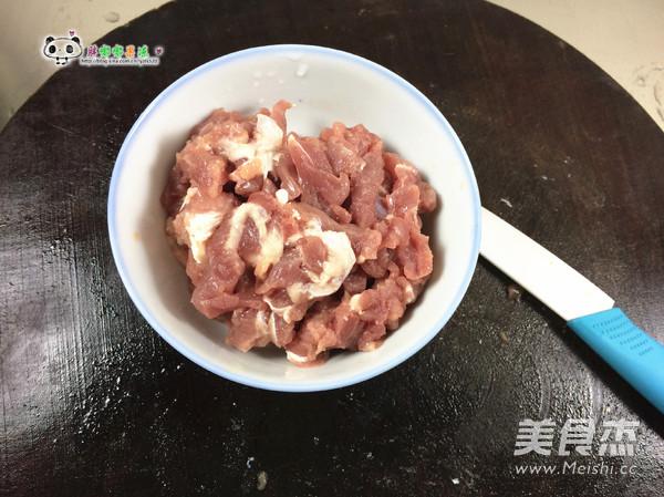 土豆胡萝卜丝炒肉的家常做法