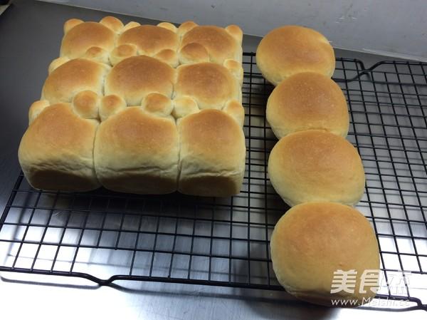 挤挤小面包的制作