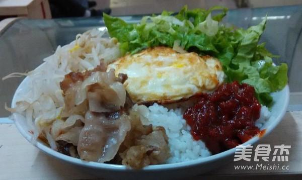 韩式拌饭怎么吃