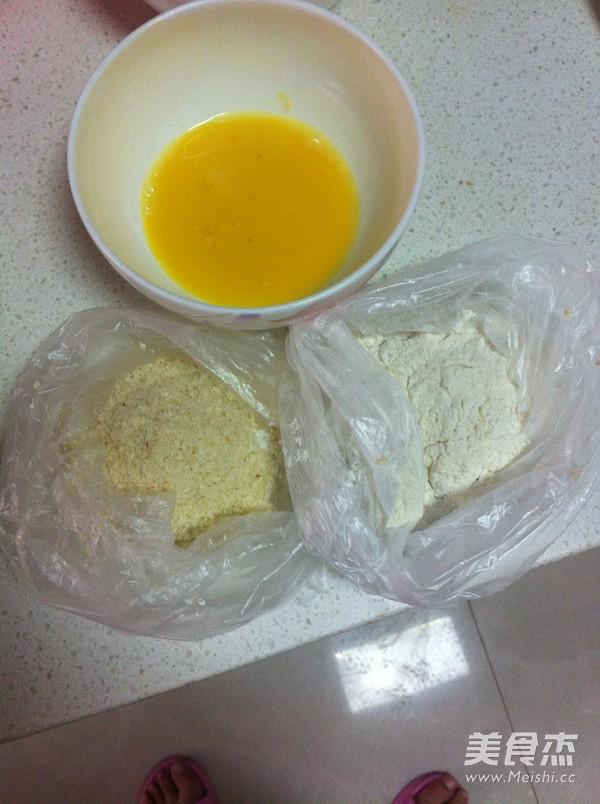 黄金炸鸡块的家常做法