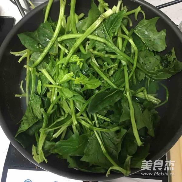蒜香菠菜拌粉丝的做法图解