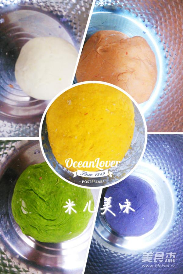 五色五味饺子的简单做法