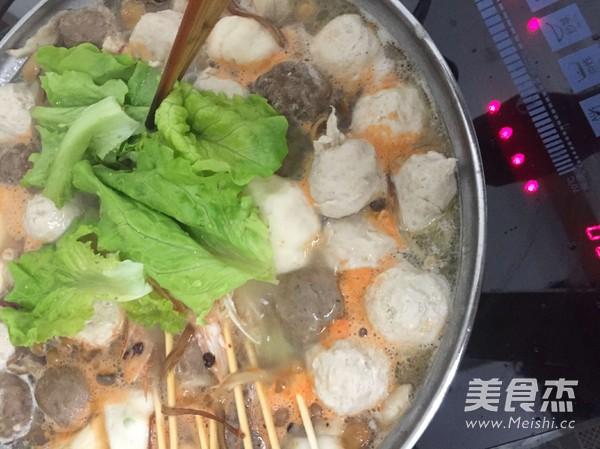浓汤宝菌菇火锅怎么炒