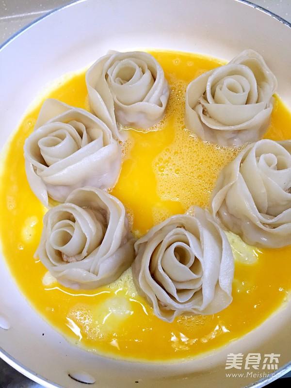 玫瑰花饺子怎么做