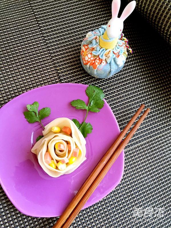 玫瑰花饺子怎么煮