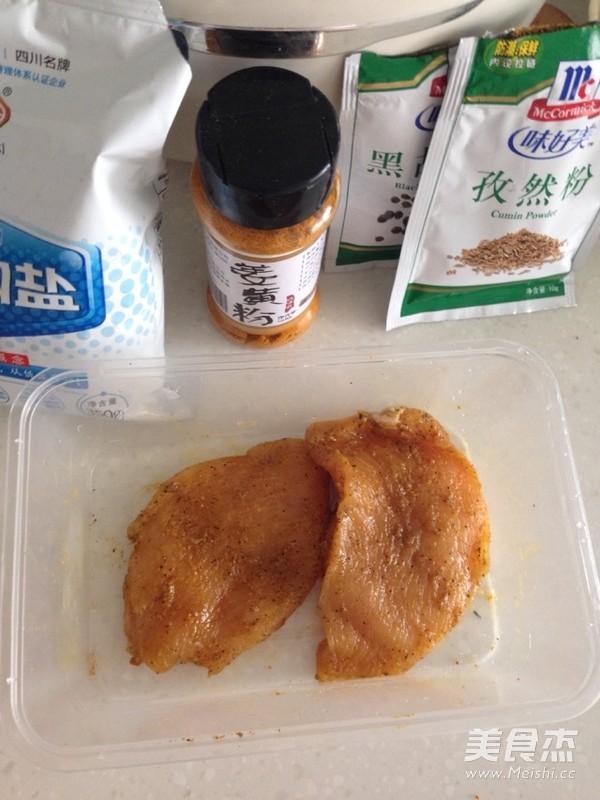 黑椒煎鸡胸肉的做法图解