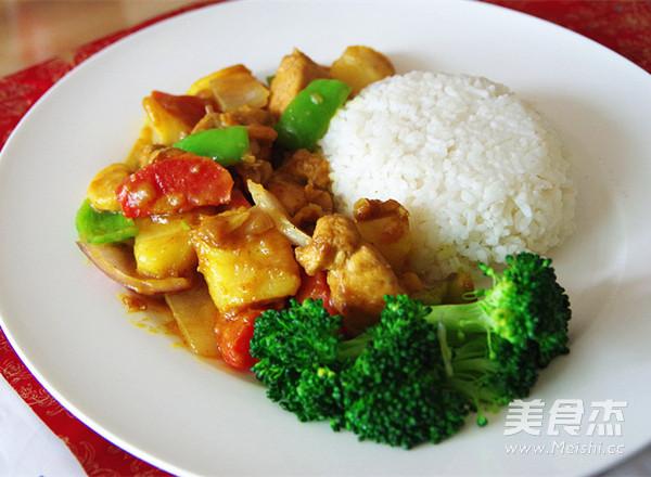 咖喱鸡肉饭怎么煮