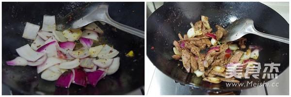 洋葱炒猪肝的家常做法