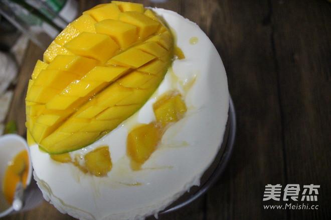 酸奶芒果慕斯蛋糕怎样煸
