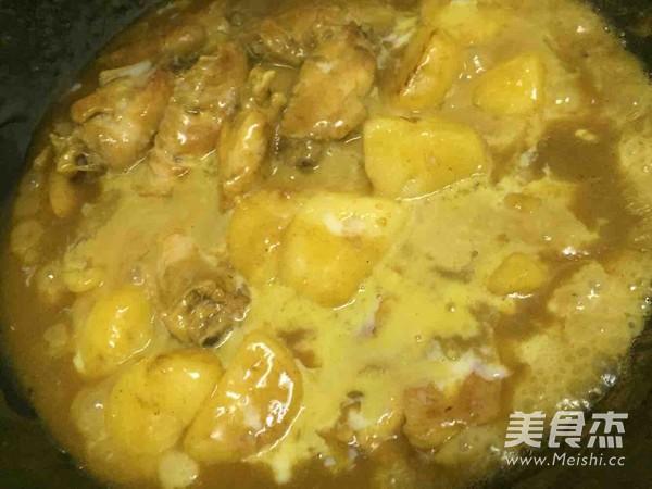 咖喱鸡翅的制作