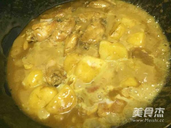 咖喱鸡翅的制作方法