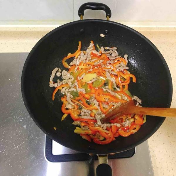甜椒肉丝怎么煮