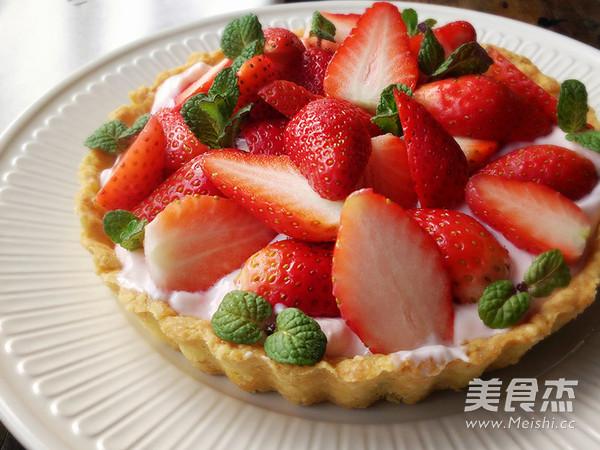 草莓酸奶挞的简单做法