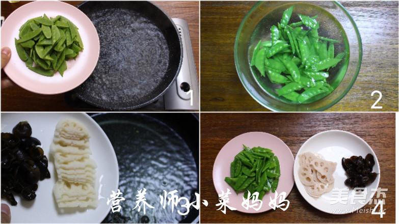 虾仁荷塘小炒  营养师小菜妈妈的简单做法