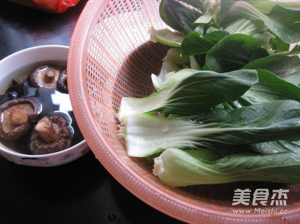 香菇油白菜的做法大全