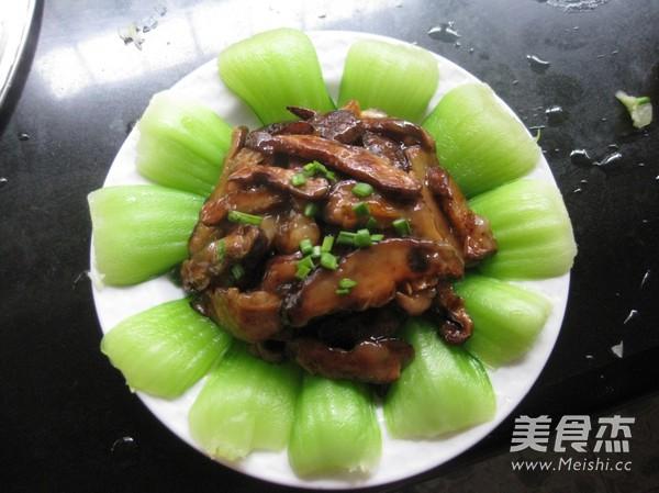 香菇油白菜怎样煸