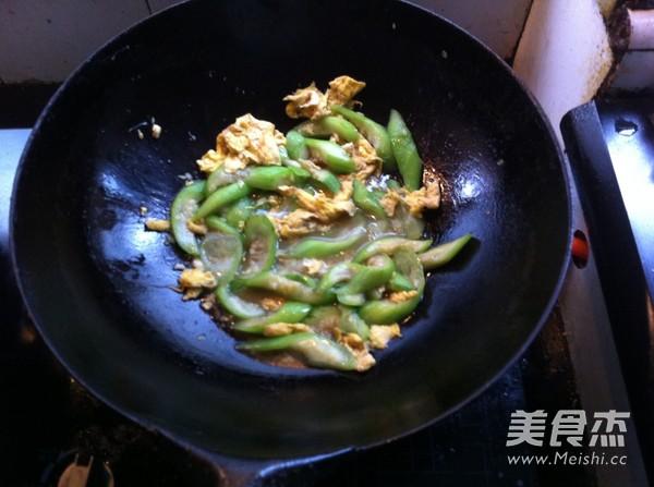 丝瓜炒蛋怎么煮