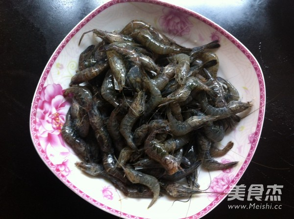炒河虾的做法图解