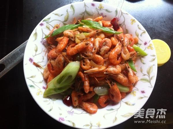 炒河虾怎么炒