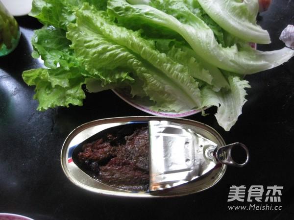豆豉鲮鱼生菜的做法大全