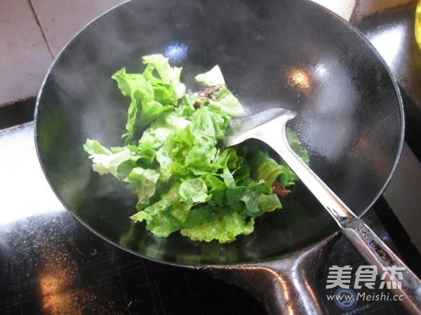 豆豉鲮鱼生菜怎么吃