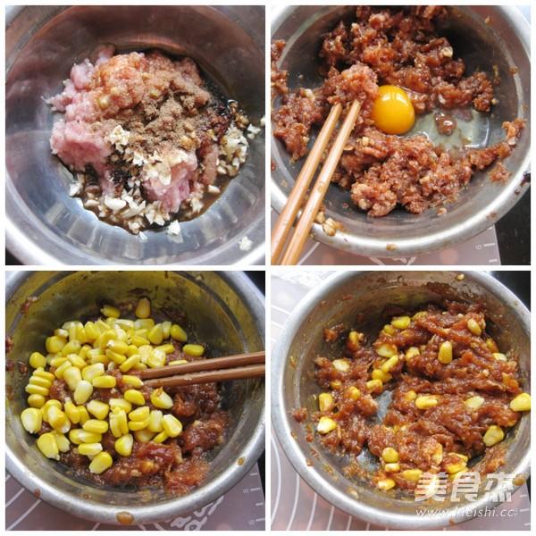 鲜肉玉米酥饼的简单做法