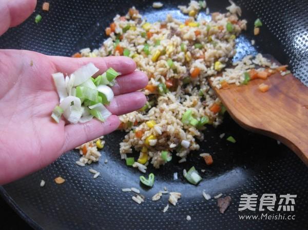牛肉玉米炒饭怎么煮