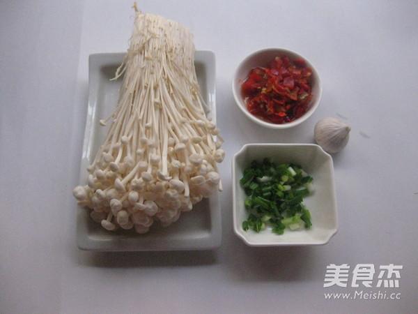 剁椒金针菇的做法大全