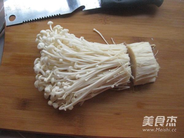 剁椒金针菇的做法图解